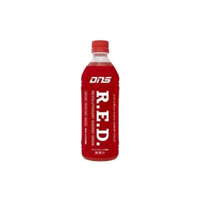 dns R.E.D.(500mlペットボトル/スポーツドリンク) 500ml×24本 ブラッドオレンジ風味 ★200×24