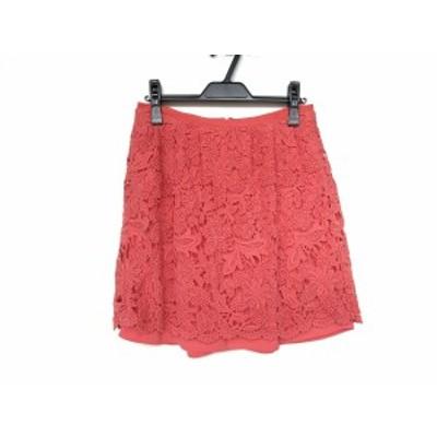 アドーア ADORE スカート サイズ36 S レディース 新品同様 - ピンク ひざ丈/レース【中古】20200806