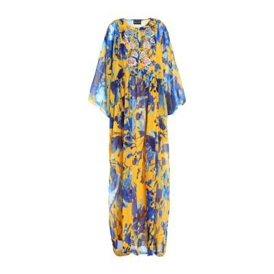 SACHIN & BABI ロングワンピース&ドレス イエロー XS ポリエステル 100% ロングワンピース&ドレス