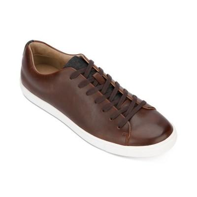 アンリステッド メンズ スニーカー シューズ Kenneth Cole Men's Stand Tennis-Style Sneakers