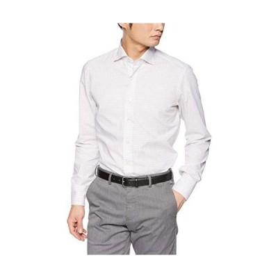 マリアサンタンジェロ カジュアルシャツ MARCO メンズ ブラウン EU 37 (日本サイズS相当)