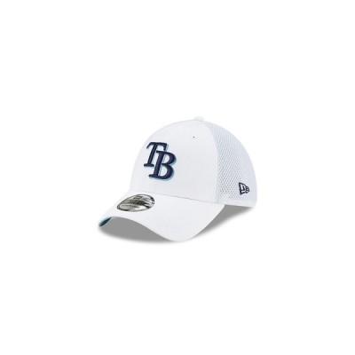 ニューエラ 帽子 アクセサリー レディース Tampa Bay Rays Stateside 39THIRTY Cap White