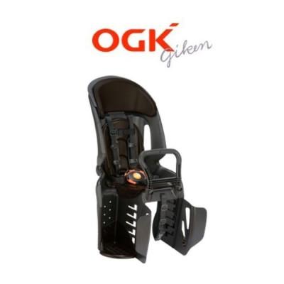 OGK ヘッドレスト付コンフォートリヤチャイルドシート RBC-011DX3 ブラック/こげ茶