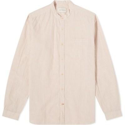 オリバー スペンサー Oliver Spencer メンズ シャツ トップス Grandad Shirt Pink