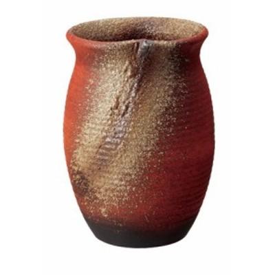 信楽焼 陶器 傘立 和風 モダン 洋風 壺 火色壺型傘立て 高さ46.5cm