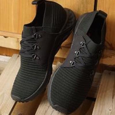 メレル【SALE】送料無料 メレル MERRELL メンズ レンジ エーシープラス MNS RANGE AC+ リラックス スニーカー 靴 TRIPLE BLACK ブラック系 [97631 SS19]