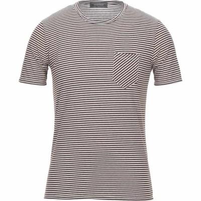 マエストラミ MAESTRAMI メンズ Tシャツ トップス T-Shirt Dark brown