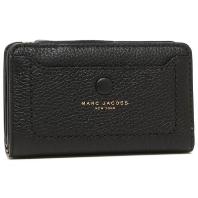 マークジェイコブス 折財布 アウトレット レディース MARC JACOBS M0013051 001 ブラック