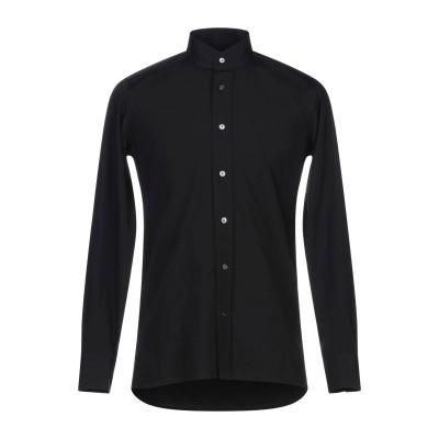 バグッタ BAGUTTA シャツ ブラック 37 コットン 100% シャツ
