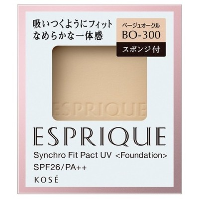 エスプリーク シンクロフィット パクト UV BO−300 ベージュオークル (9.3g)