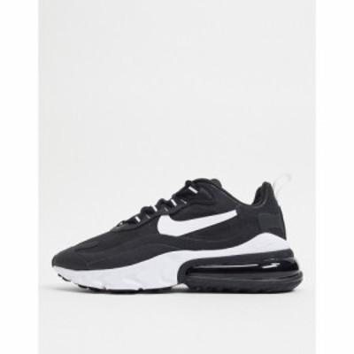 ナイキ Nike レディース スニーカー エアマックス 270 シューズ・靴 Air Max 270 React In Black/White ブラック/ホワイト