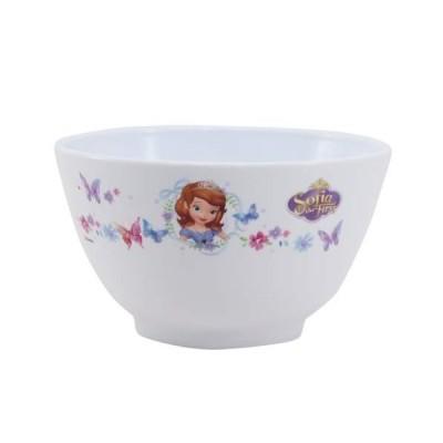ちいさなプリンセス ソフィア キッズ食器 食洗機対応PP製お茶碗 ディズニー Disney プリンセス スケーター ライスボウル キャラクター グッズ