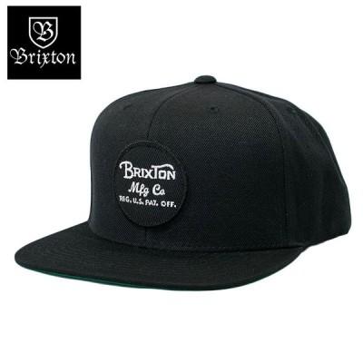 BRIXTON スナップバックキャップ スケートブランド 人気 定番 6パネル ブリクストン WHEELER SNAPBACK CAP