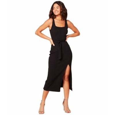 エルスペース ワンピース トップス レディース Palm Beach Dress Black