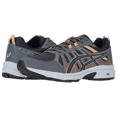 アシックス GEL-Venture 7 メンズ スニーカー 靴 シューズ Graphite Grey/Black