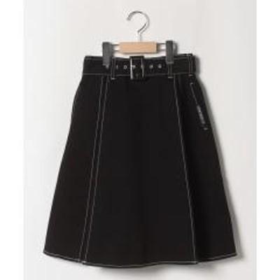Lovetoxic(ラブトキシック)サイドプリーツ切り替えスカート