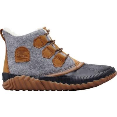 ソレル SOREL レディース ブーツ ウインターブーツ シューズ・靴 Out N About Felt Plus Waterproof Winter Boots Quarry