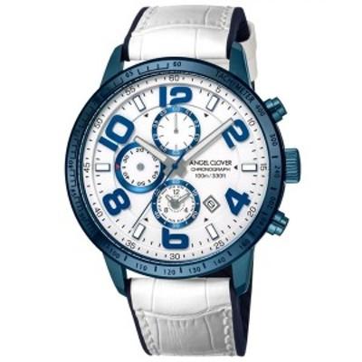 【正規品】ANGEL CLOVER エンジェル クローバー 腕時計 LU44BNV-WH メンズ LUCE ルーチェ クロノグラフ クオーツ