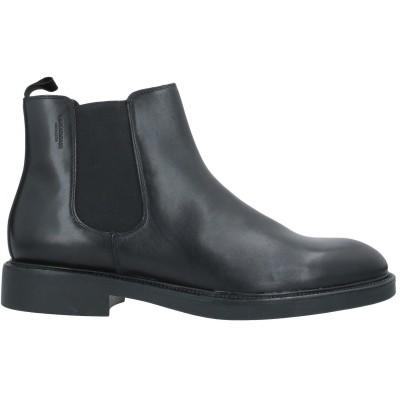 VAGABOND SHOEMAKERS ショートブーツ ブラック 43 革 ショートブーツ
