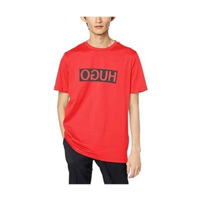 [ヒューゴ] Tシャツ/カットソー レギュラーフィット HUGOリバースロゴ Tシャツ メンズ