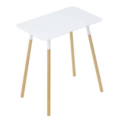 スチール天板のサイドテーブル