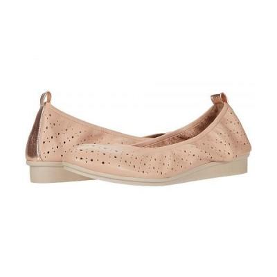 Aerosoles エアロソールズ レディース 女性用 シューズ 靴 フラット Wooster - Light Pink Leather