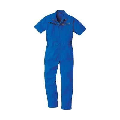 桑和(SOWA) 半袖続服 203/ロイヤルブルー S〜LLサイズ 9907 作業着 作業服 ワークウェア ウエア つなぎ メンズ