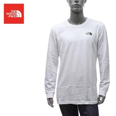 【2020-21AW】ザノースフェイス  SIMPLE DOME TEE シンプルドームロゴ 長袖Tシャツ【TNF WHITE】 NF0A3L3B  FN4/THE NORTH FACE/m-tops