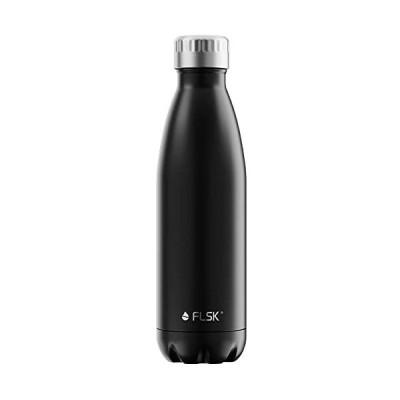 FLSK-フラスク-500ml-ブラック-ステンレスボトル
