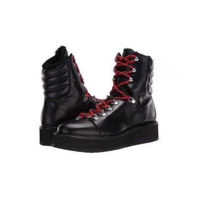 AllSaints レディース 女性用 シューズ 靴 ブーツ レースアップ 編み上げ Fae - Black