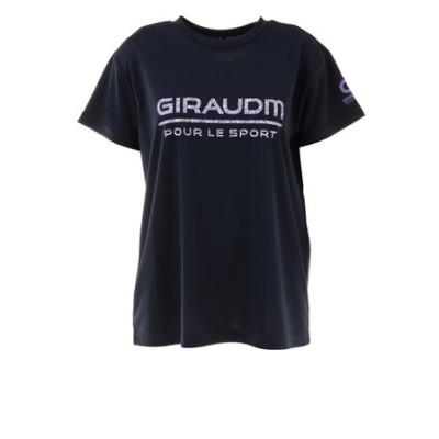 Tシャツ レディース 半袖 ドライ 吸汗速乾 UVカット メッシュシャツ 864GM1CD6674 NVY