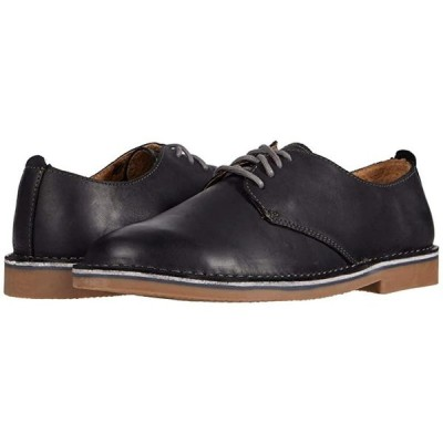 フローシャイム Gannon Plain Toe Oxford メンズ ブーツ Black Crazy Horse