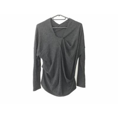 ダーマコレクション DAMAcollection 長袖セーター サイズ1 S レディース ダークグレー【中古】20201203