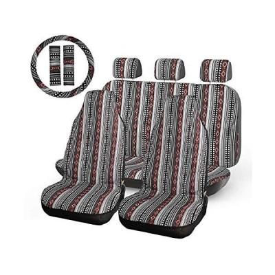 全国送料無料 INFANZIA カーシートカバー ブラック&レッド IFSC-001A新品