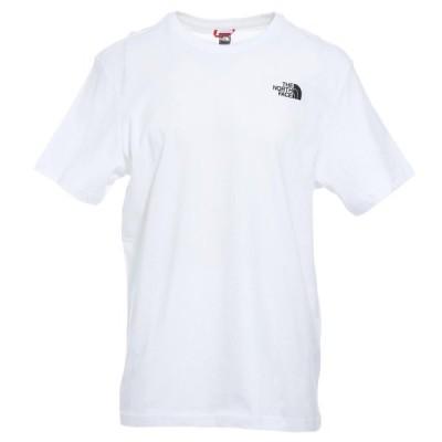 ノースフェイス THE NORTH FACE クルーネックTシャツ RED BOX TEE ホワイト メンズ nf0a2tx2