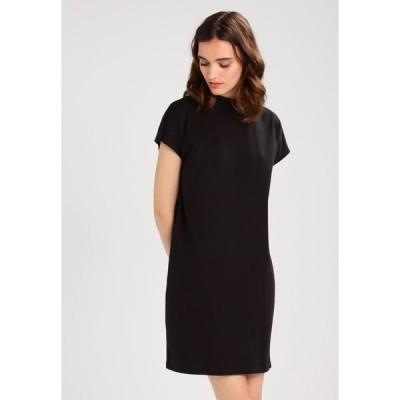 ウィークデイ ワンピース レディース トップス PRIME DRESS - Jersey dress - black