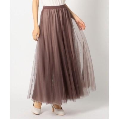 スカート ウィンターチュールスカート