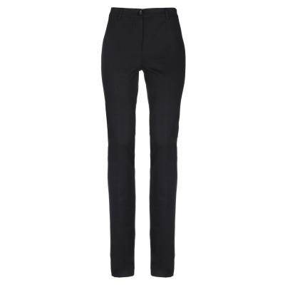 CRISTINAEFFE パンツ ブラック 40 レーヨン 70% / ナイロン 25% / ポリウレタン 5% パンツ