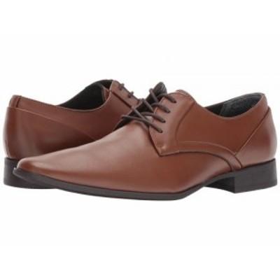 Calvin Klein カルバンクライン メンズ 男性用 シューズ 靴 オックスフォード 紳士靴 通勤靴 Benton British Tan【送料無料】
