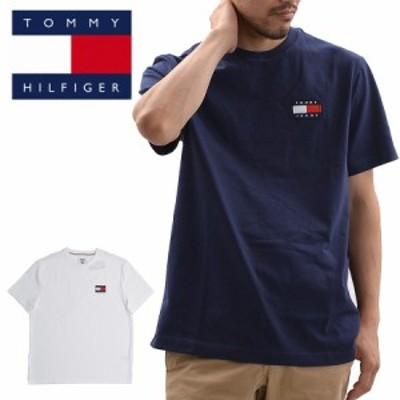 トミーヒルフィガー TOMMY HILFIGER 78F0203 半袖Tシャツ TJ ALBIE BADGE (メール便対応)