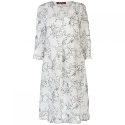 マックスマーラ Max Mara Studio レディース ワンピース ワンピース・ドレス Max Secolo Dress WHITE