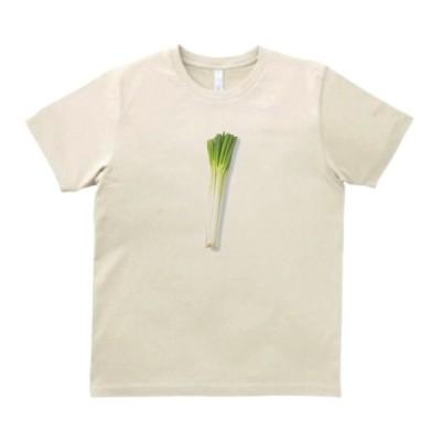 ネギ 葱 食べ物・飲み物・野菜 Tシャツ サンド