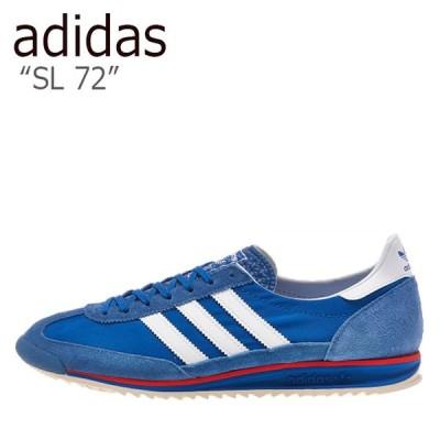アディダス スニーカー adidas メンズ レディース SL 72 エスエル 72 BLUE ブルー WHITE ホワイト EG6849 シューズ