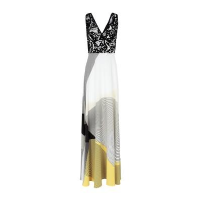 MAESTRI ロングワンピース&ドレス イエロー 8 ポリエステル 100% ロングワンピース&ドレス