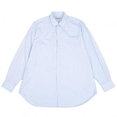 コムデギャルソン オムCOMME des GARCONS HOMME コットン長袖シャツ 水色S位 【メンズ】