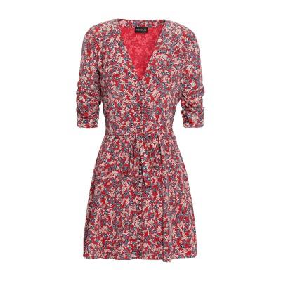 NICHOLAS ミニワンピース&ドレス レッド 2 シルク 100% ミニワンピース&ドレス
