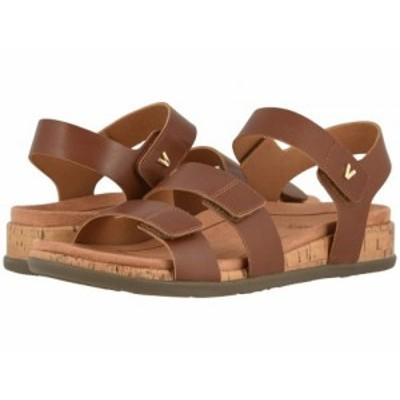 VIONIC バイオニック レディース 女性用 シューズ 靴 サンダル Colleen Cinnamon Leather【送料無料】