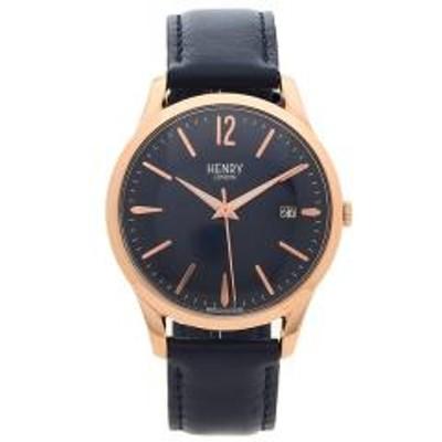 HENRY LONDON(ヘンリーロンドン)ヘンリーロンドン 腕時計 レディース メンズ EUSTON ユーストン 39MM HENRY LONDON HL39-S-0300 ネイビー