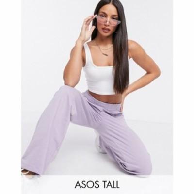 エイソス ASOS Tall レディース ジョガーパンツ ボトムス・パンツ ASOS DESIGN Tall co-ord straight leg jogger in organic cotton in l