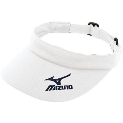 ミズノ サンバイザー(レディース) 01ホワイト ソフトボール ハイソックス/バイザー 52BA410
